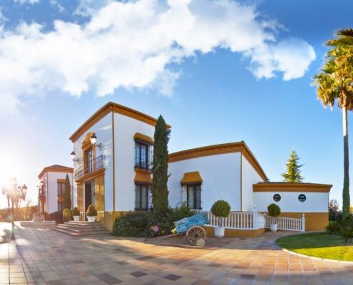 Jardines, Finca, salón de bodas en Lucena, Córdoba